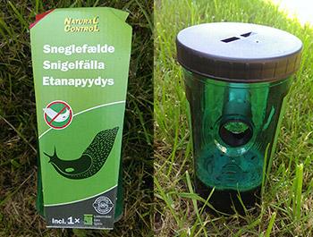 Natural Control sneglefælde til dræbersnegle