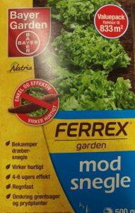 Natria Ferrex Garden sneglemiddel